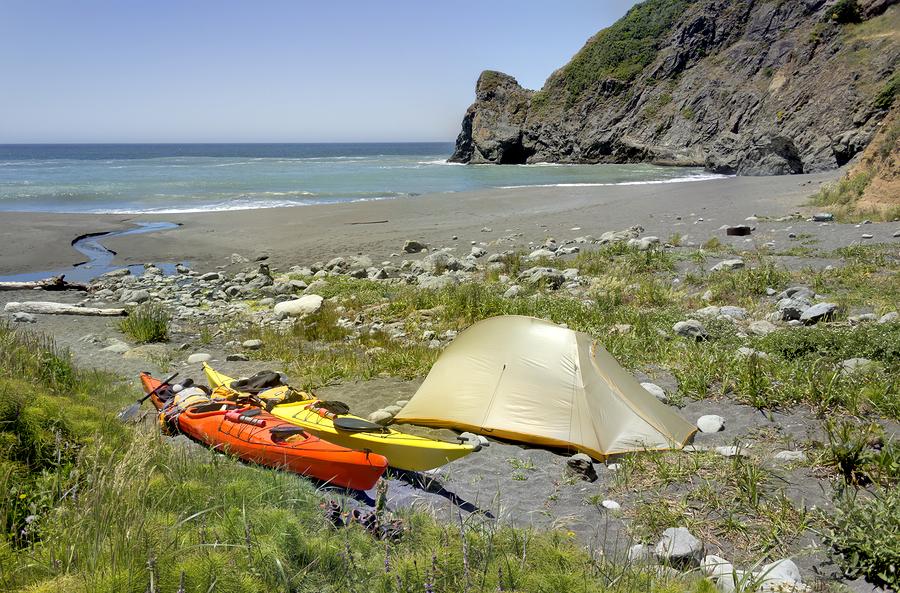 North California camping