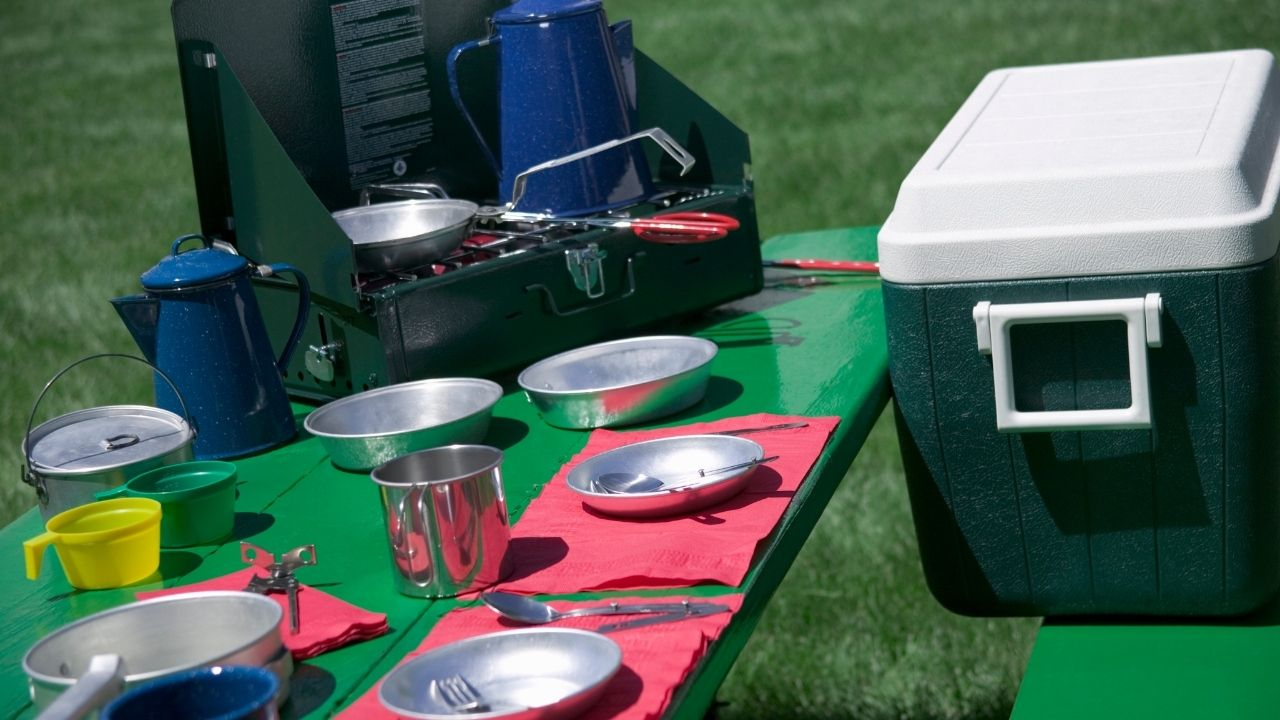 planning your camping food list